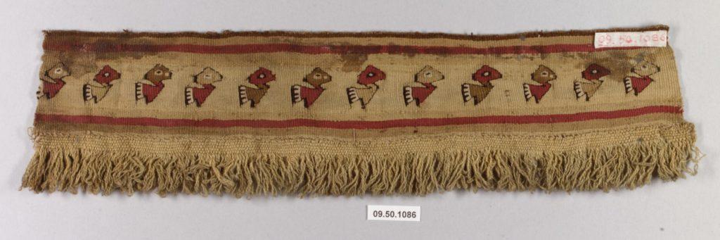 Tapestry Fragment with Fringe