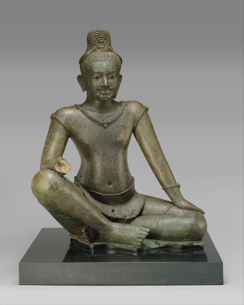 The Bodhisattva Avalokiteshvara Seated in Royal Ease