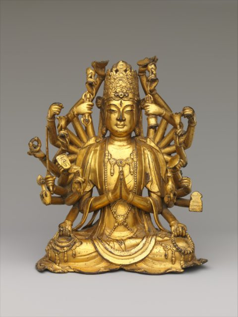 Bodhisattva Avalokiteshvara with One Thousand Hands and One Thousand Eyes (Qianshou Qianyan Guanyin)