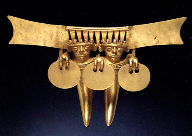 Double Figure Pendant
