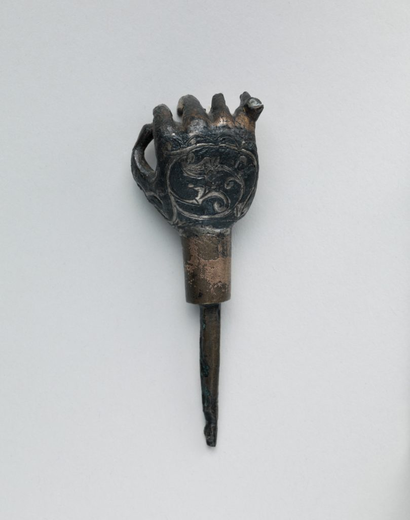 Hand with Niello Decoration