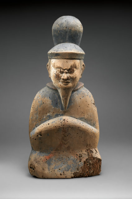 Shinto Deity as a Seated Courtier