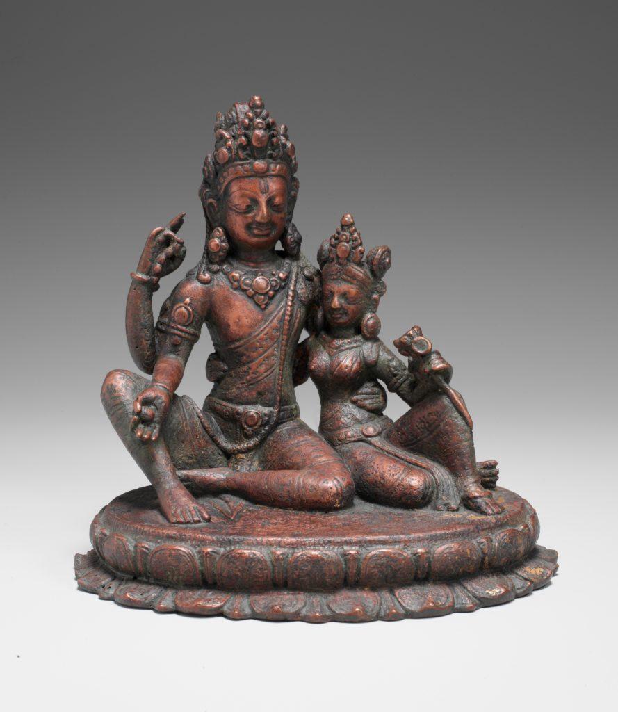 Shiva Seated with Uma (Umamaheshvara)