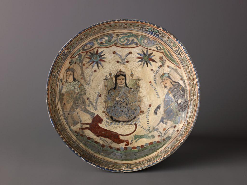 "Bowl, Minai'i (""enameled"") ware"