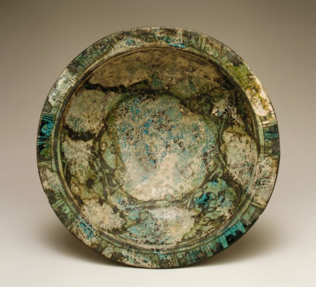 Bowl with Knotted Dragons