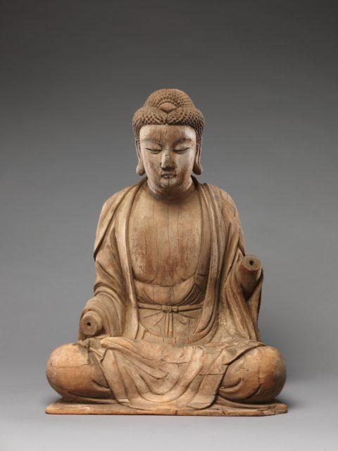 Buddha, probably Shakyamuni (Shijiamouni)