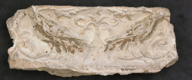 Fragment of a Frieze with Addorsed Birds