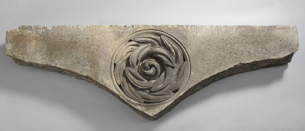 Fragment with Relief Decoration