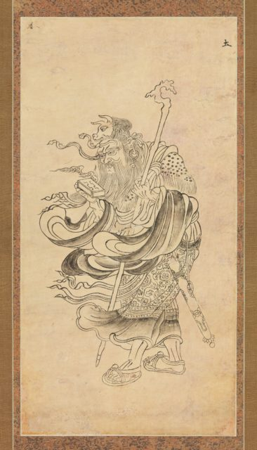 Iconographic Drawing of Saturn (Doyō)