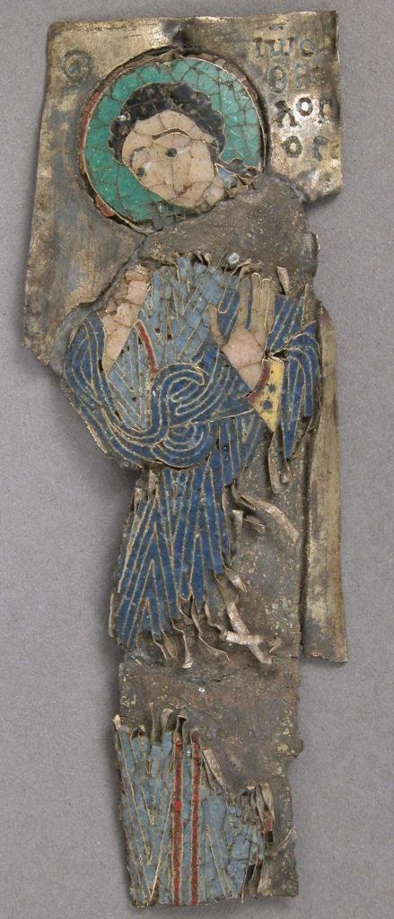 Plaque of St. John
