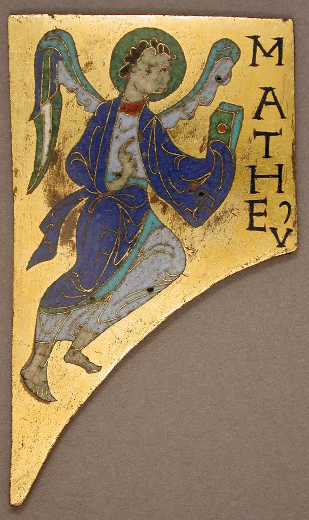 Plaque with the Symbol of the Evangelist Matthew