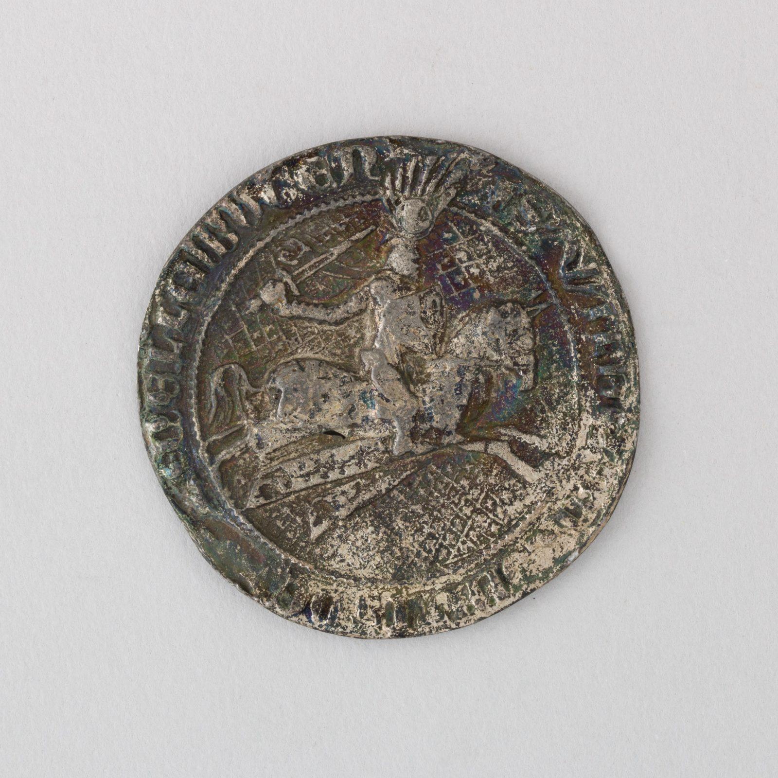 Reproduction of the Seal of Wilhelm, Graf von Catzenelnbogen, L. 12th–14th century
