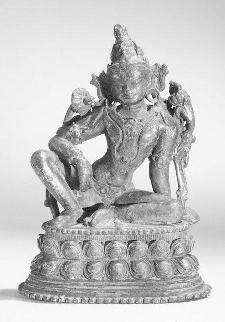 Seated Manjushri