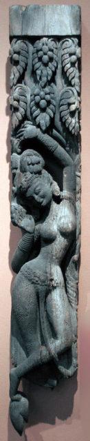 Temple Strut with a Tree Goddess (Shalabhanjika)