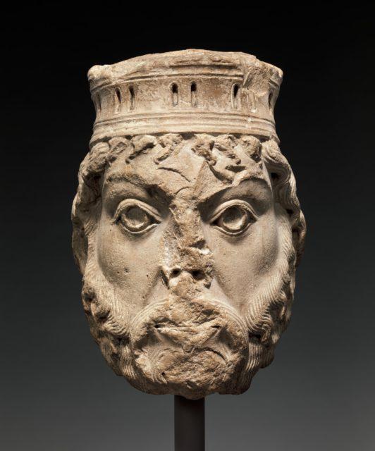 Head of King David