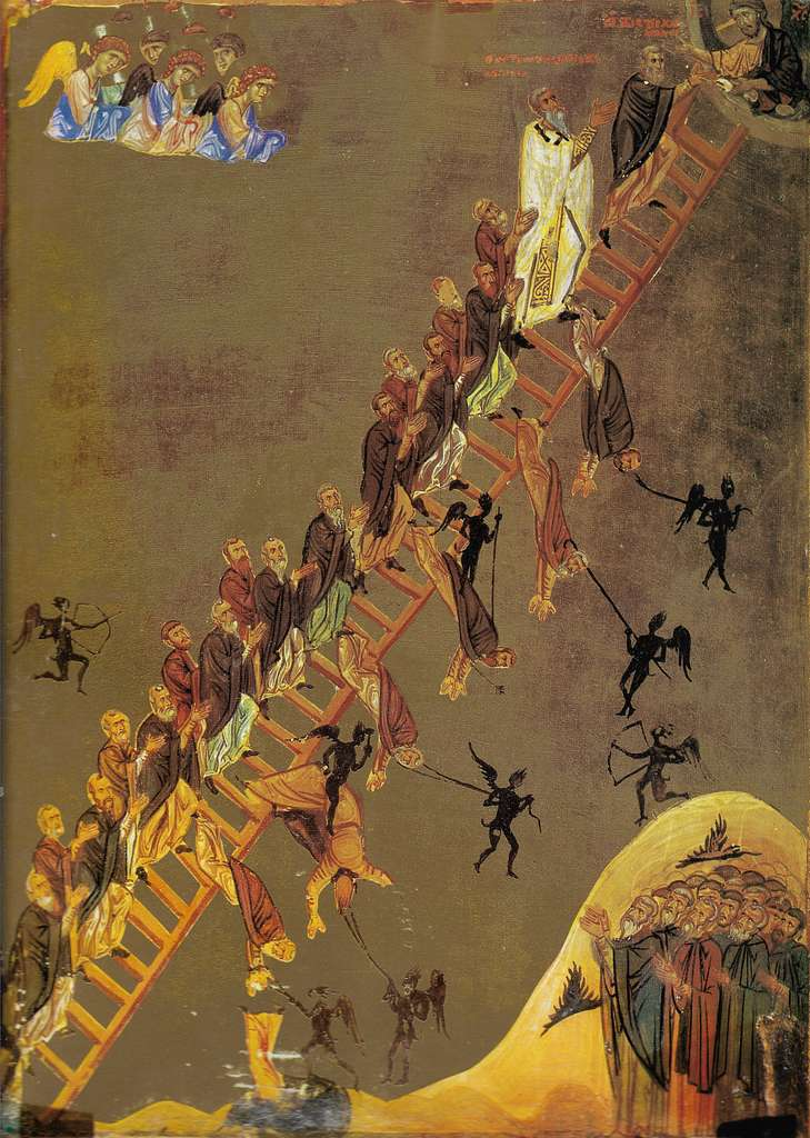 The Ladder of Divine Ascent-Sinai