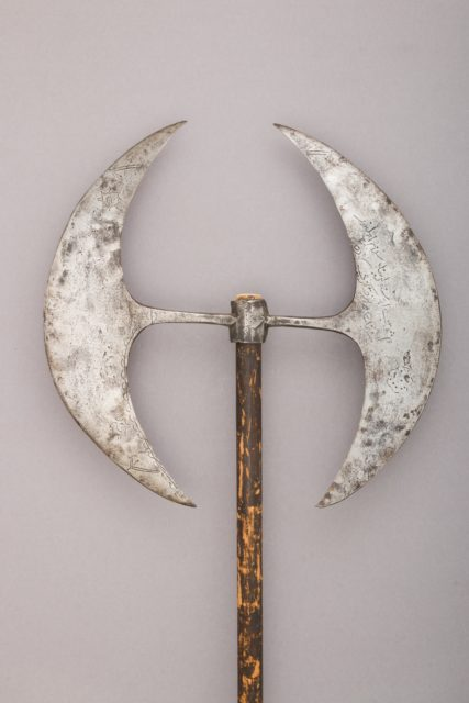 Double-bladed Processional Axe