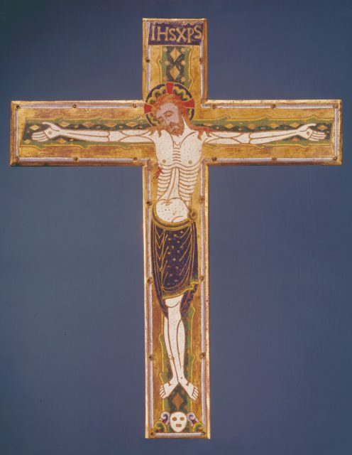 Central Plaque of a Cross