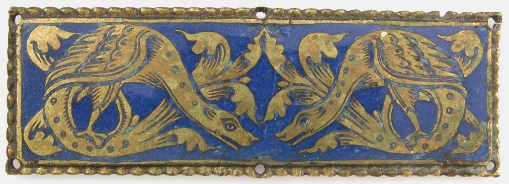 Plaque from a Reliquary Shrine