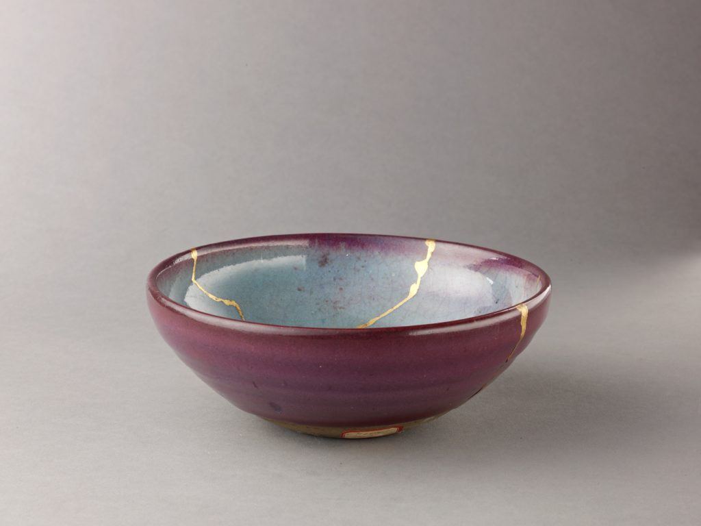 Bowl, possibly a copy of Jun ware