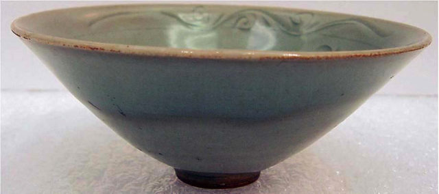 Bowl with Plum Blossom and Crescent Moon