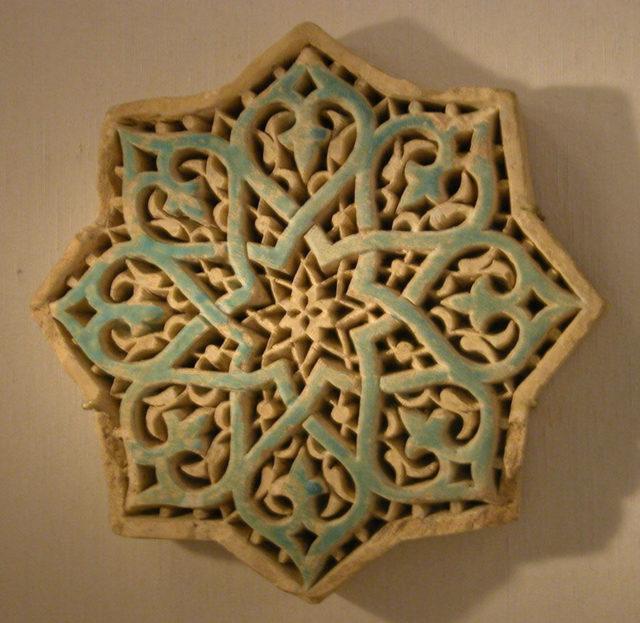 Carved Star Tile