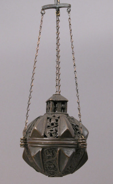 Censer with Animal and Scroll Motifs