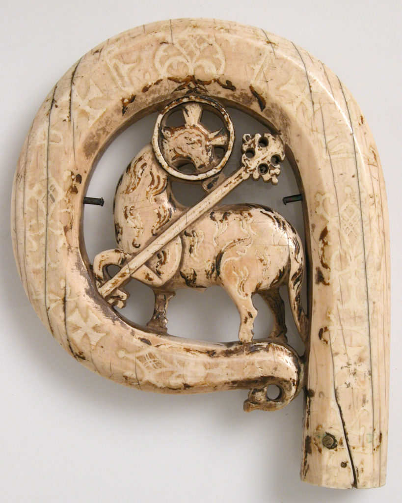 Crozier Head with the Lamb of God