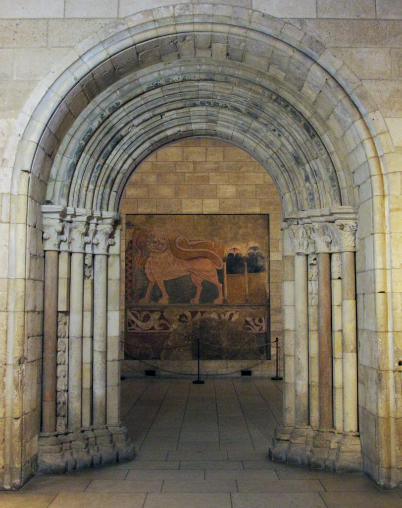 Doorway from Abbey of Notre-Dame at Nevers