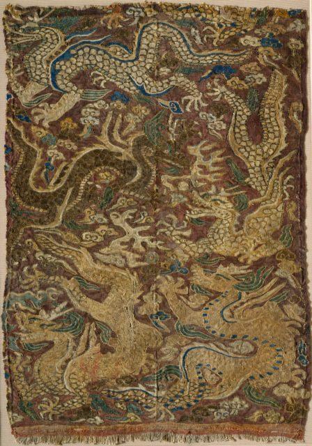 Dragons Chasing Flaming Pearls