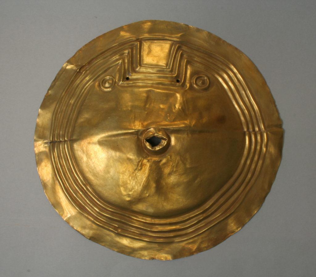Embossed disk