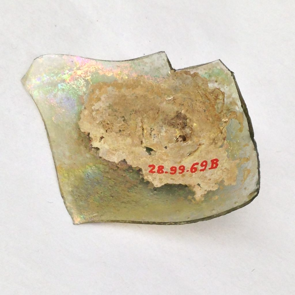 Fragment of a Glass Bottle
