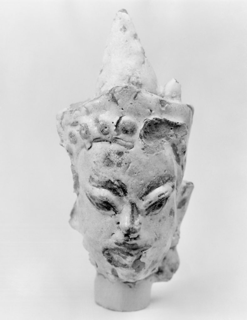Head of a Deva