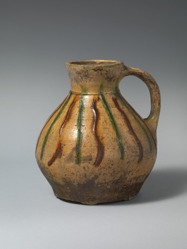 Jug with applied decoration
