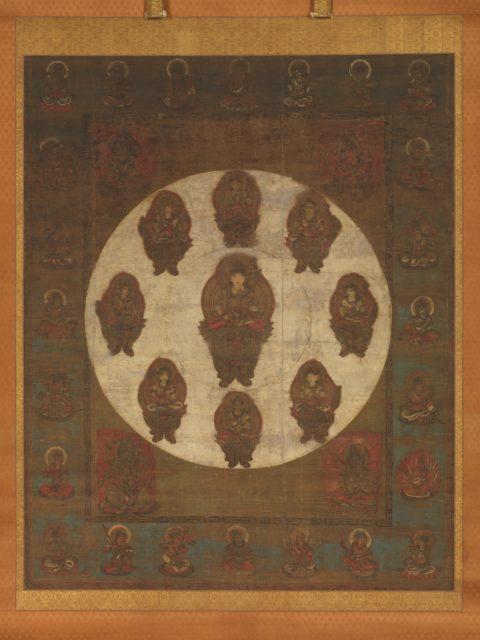 Mandala of Monju Bosatsu