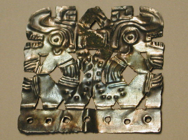Plaque with figures