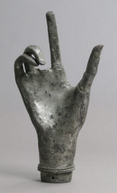 Reliquary, Hand from