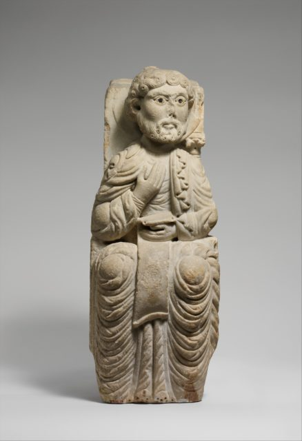 Seated Figure (Prophet or Apostle)
