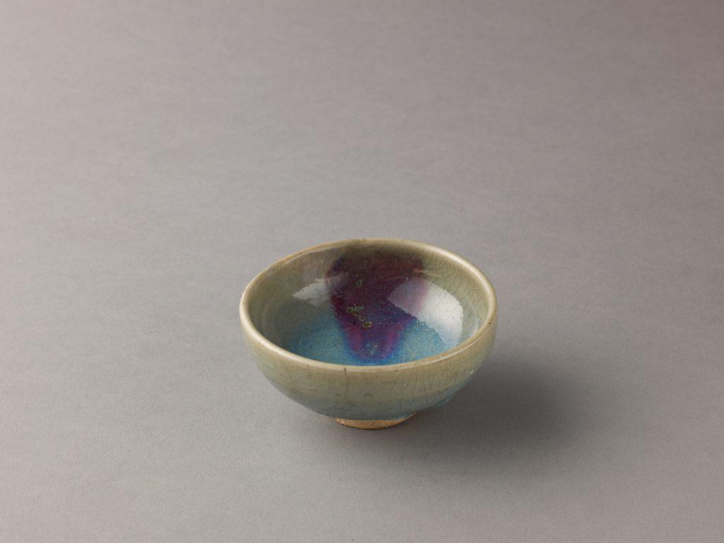 Small bowl, Jun ware