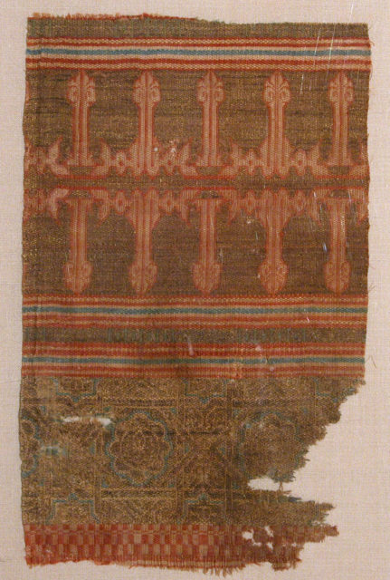 Textile Fragment from the Tomb of Don Felipe