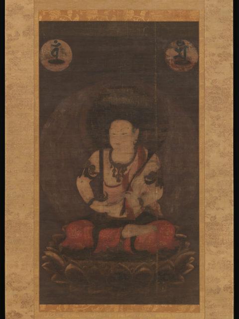 The Bodhisattva Manjushri (Monju Bosatsu)