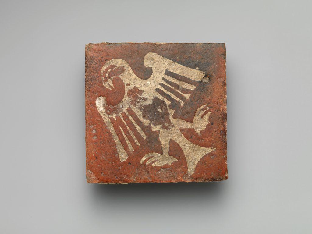 Tile with Eagle Motif