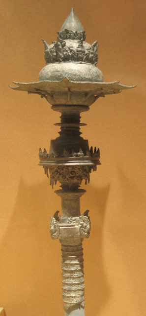 Top of a Scepter