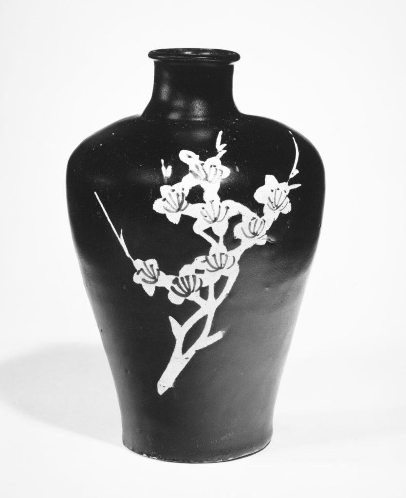 Vase with Flowering Plum