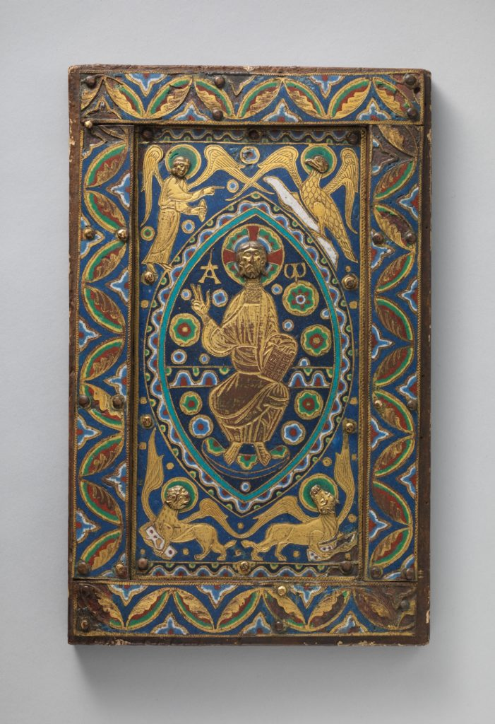 Book-Cover Plaque with Christ in Majesty
