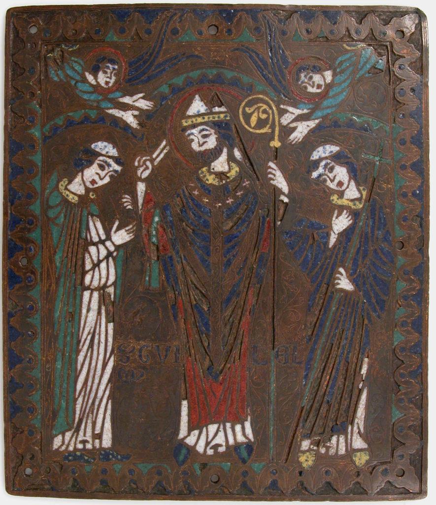 Plaque with Saint William of Bourges