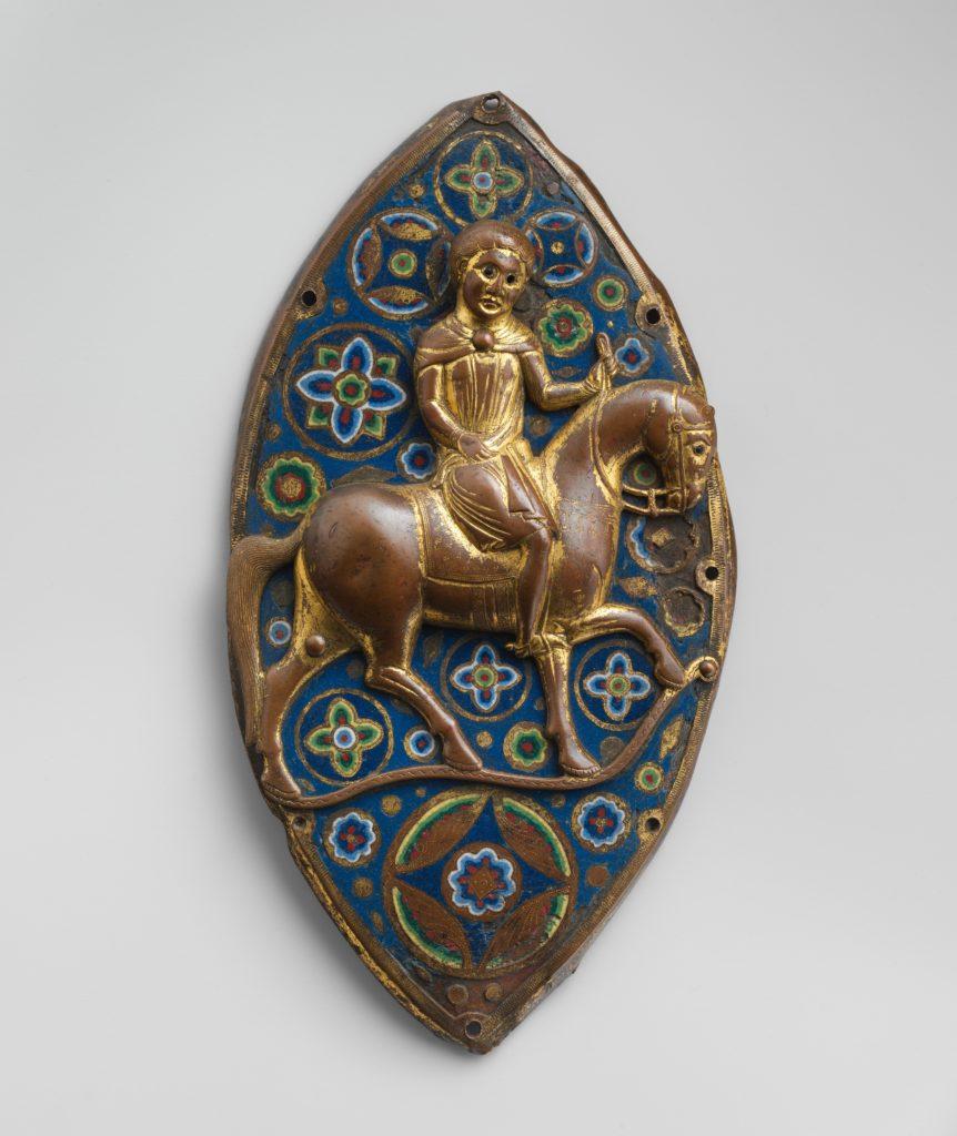 Equestrian Plaque