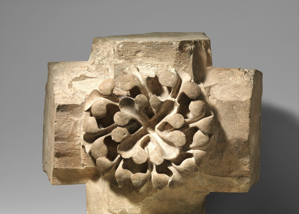 Keystone from a Vaulted Ceiling