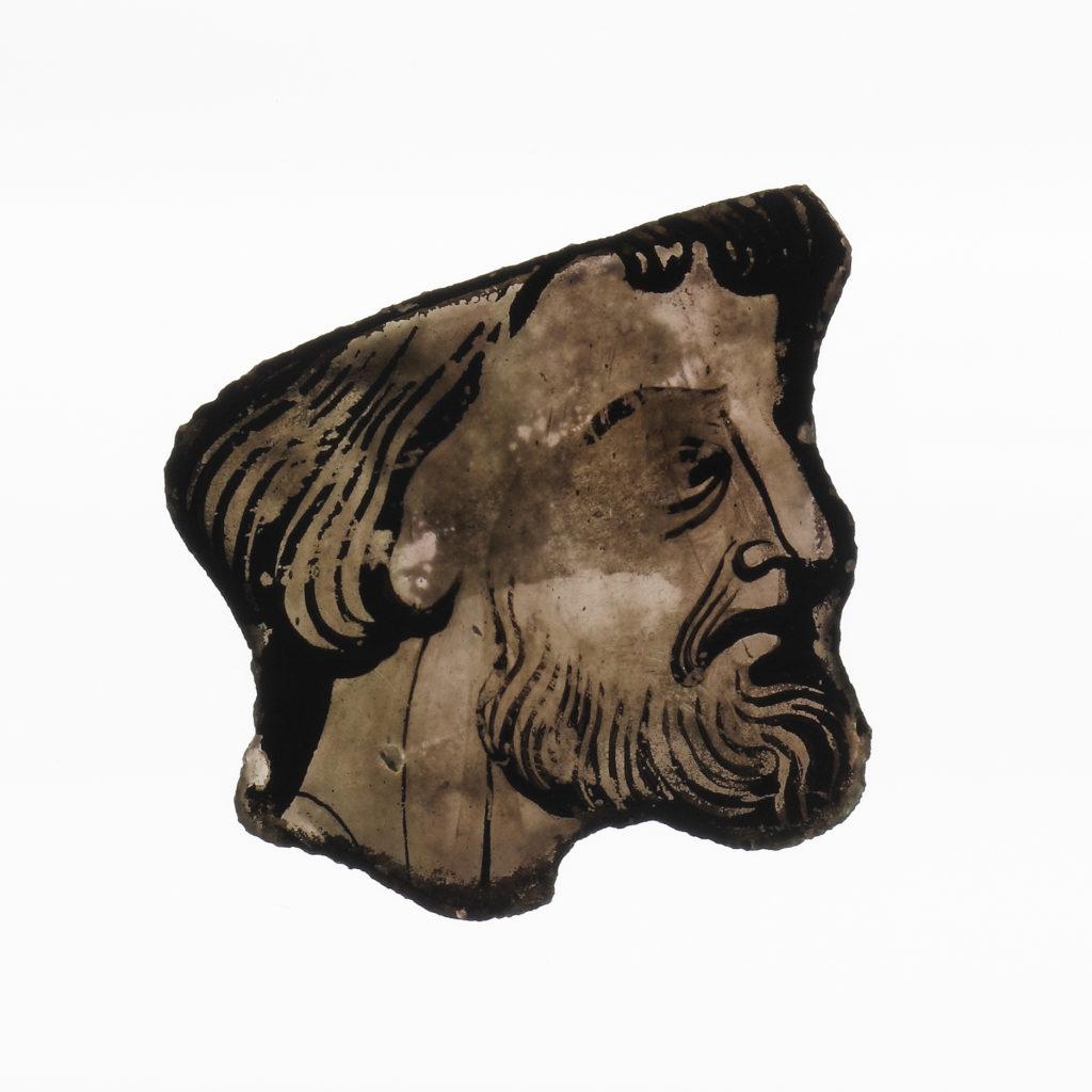 Profile of a Bearded Man