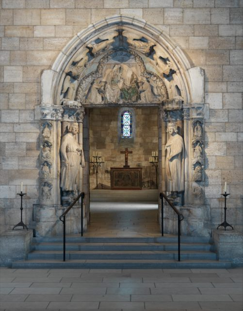 Doorway from Moutiers-Saint-Jean